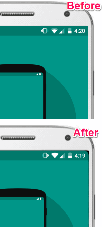 How To Add Rounded Corners To Display On Android
