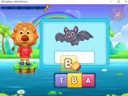 Windows 10 Educational App for Kids to Learn Spellings, Sound of Words