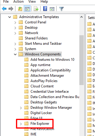 access file explorer folder