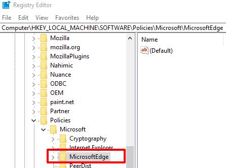 access microsoft edge key