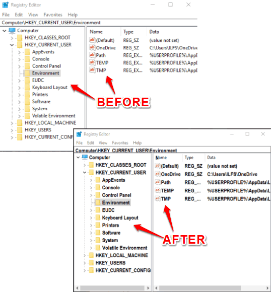 change font of registry editor in windows 10