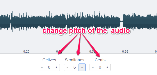 5 Free Online Pitch Shifter Tools to Change Pitch of Audio Files