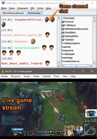 chatty twitch client