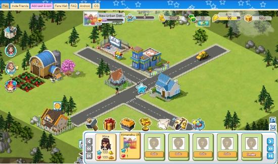 city building facebook games- lilycity HD