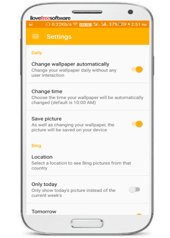 How To Set Bing Wallpaper Of The Day As Daily Android Wallpaper