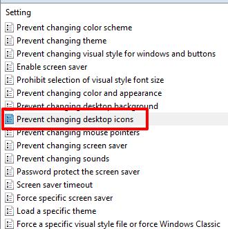 double-click prevent changing desktop icons option