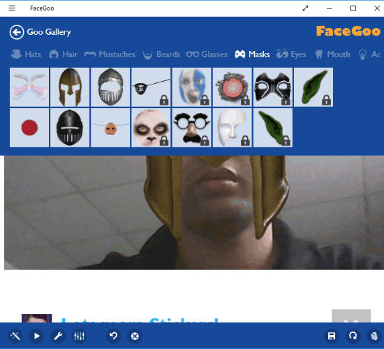 facegoo windows 10 app