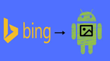 how to set Bing wallpaper of the day as daily wallpaper on Android