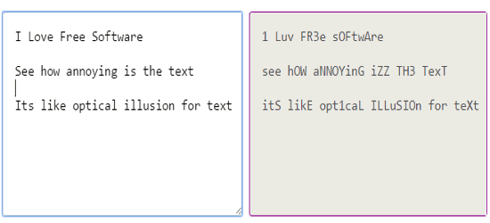 online annoying text generator