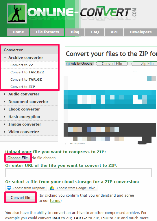 online -convert rar to zip