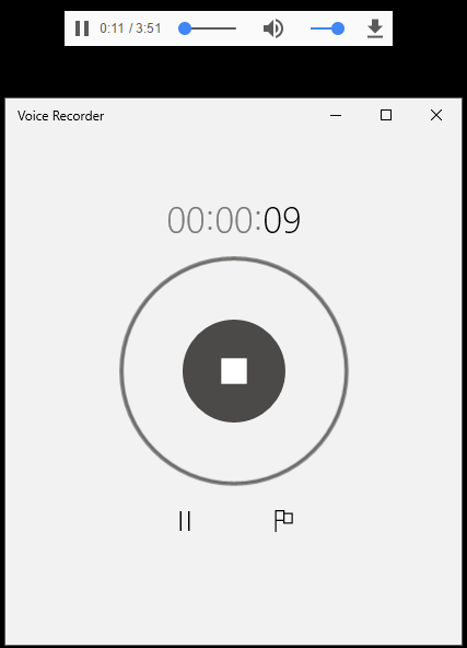 record browser audio
