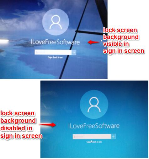 show or hide lock screen background in windows 10 sign in screen