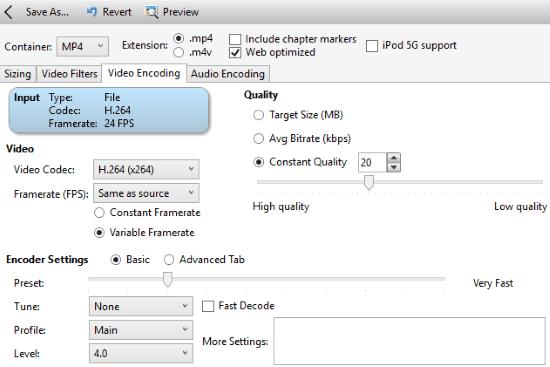 video compressor software for windows- vidcoder