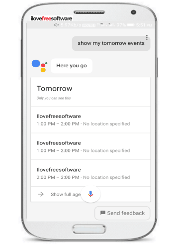 How To Add Events To Google Calendar Via Google Assistant