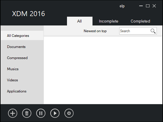 xtreme download manager interface