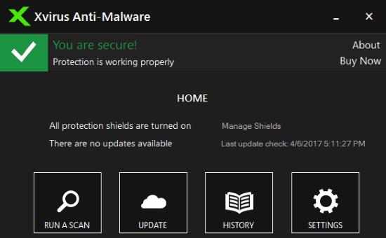 xvirus- free antimalware