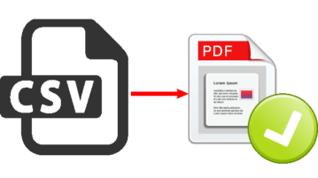 3 Best Free CSV To PDF Converter Software For Windows