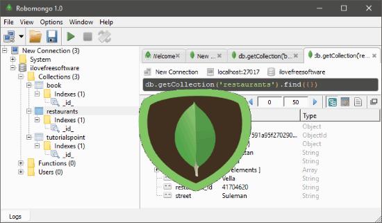 5 Free MongoDB IDE For Windows