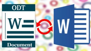 5 Free ODT to DOC, DOCX Converter Software, Convert ODT to Word