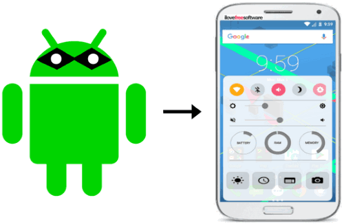 5 free control center apps for android