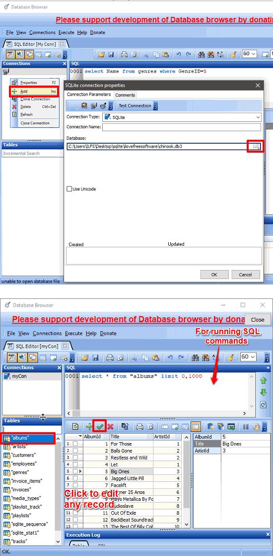 5 Free SQLite Editor For Windows To Edit DB, DB3, SQLITE Files
