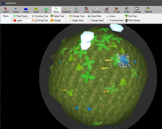 Free Artificial Planet Creator For Windows, Create Virtual Animated Planet-min