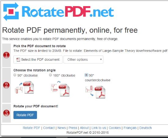 RotatePDF.net service
