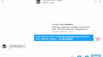 auto dm sent to new follower- featured image
