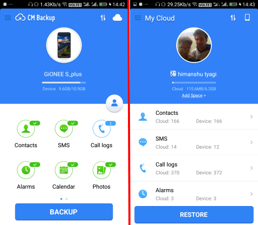 android phone backup app