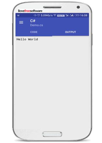 compiler beta- program output