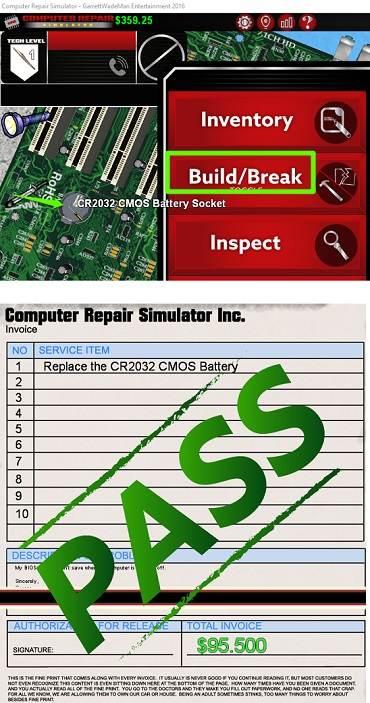 computer repair simulator fixed