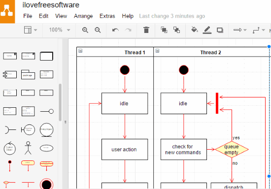 5 free websites to draw activity diagrams online