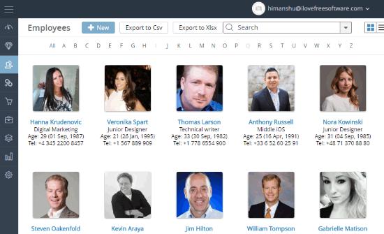easyerp-free erp online website
