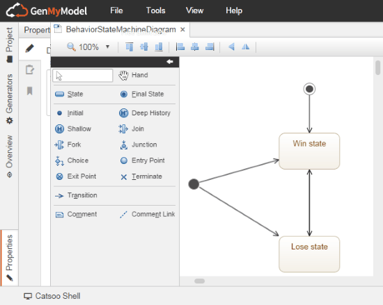 5 Free Websites To Draw State Diagram Online