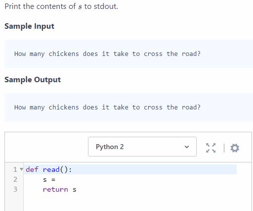 hackerrank-solve python problem