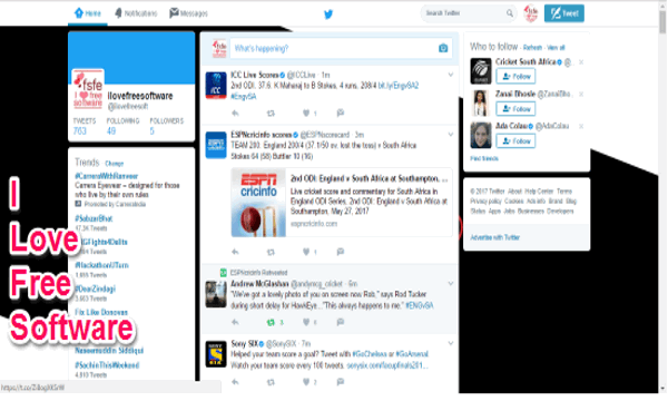 How To Change Background Of Twitter Website In Chrome