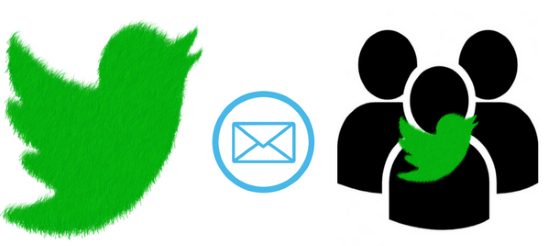 how to use mail merge in twitter