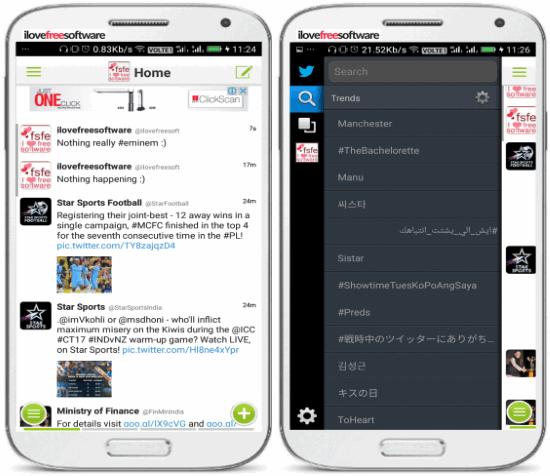 janetter- mobile lite twitter app