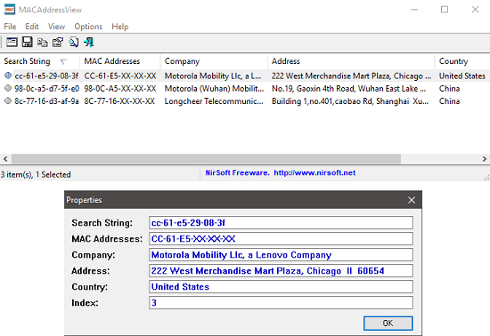 How To Find Company Details Of A Product Through MAC Address