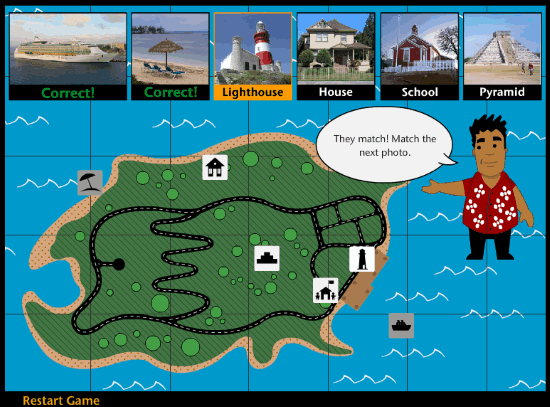 natioanl geographic- play map game online