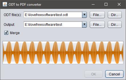 odt to pdf converter