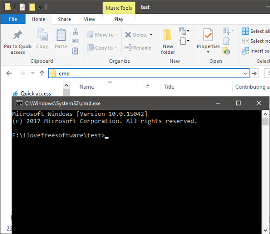 open command prompt for wget