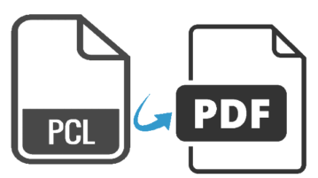 pcl to pdf converter software