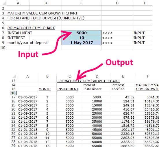 RD-FD-Growth-Calculator