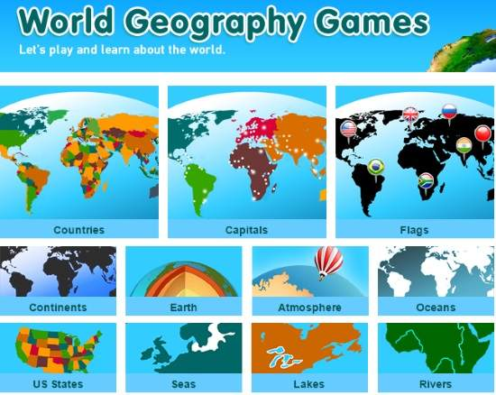 5 free online map games for kids