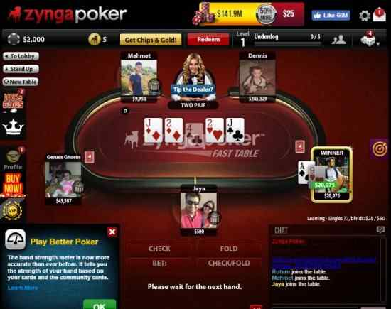 5 Free Texas Hold'Em Poker Game for Facebook Not to be Missed