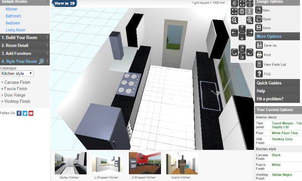 5 Free Online Kitchen Design Websites
