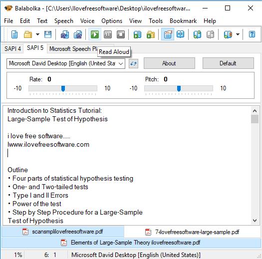 Best Free PDF Audio Reader Software