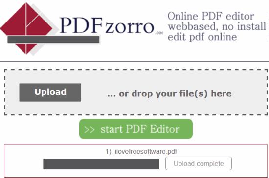 PZDzorro- open pdf