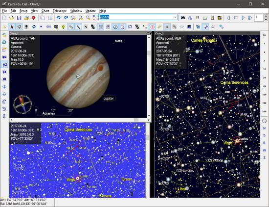 Sky Chart Maker Software